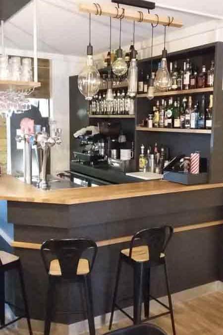 Relooking & décoration d'intérieur bar à tapas à Bayeux
