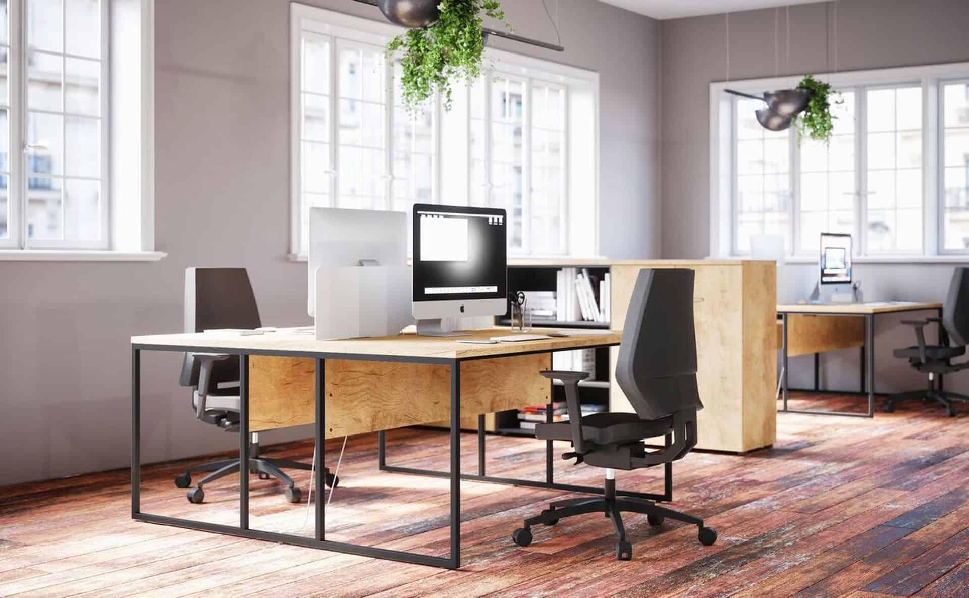 meuble de bureau individuel à Caen Bayeux en Normandie - Buronomic Stricto Sensu Duo