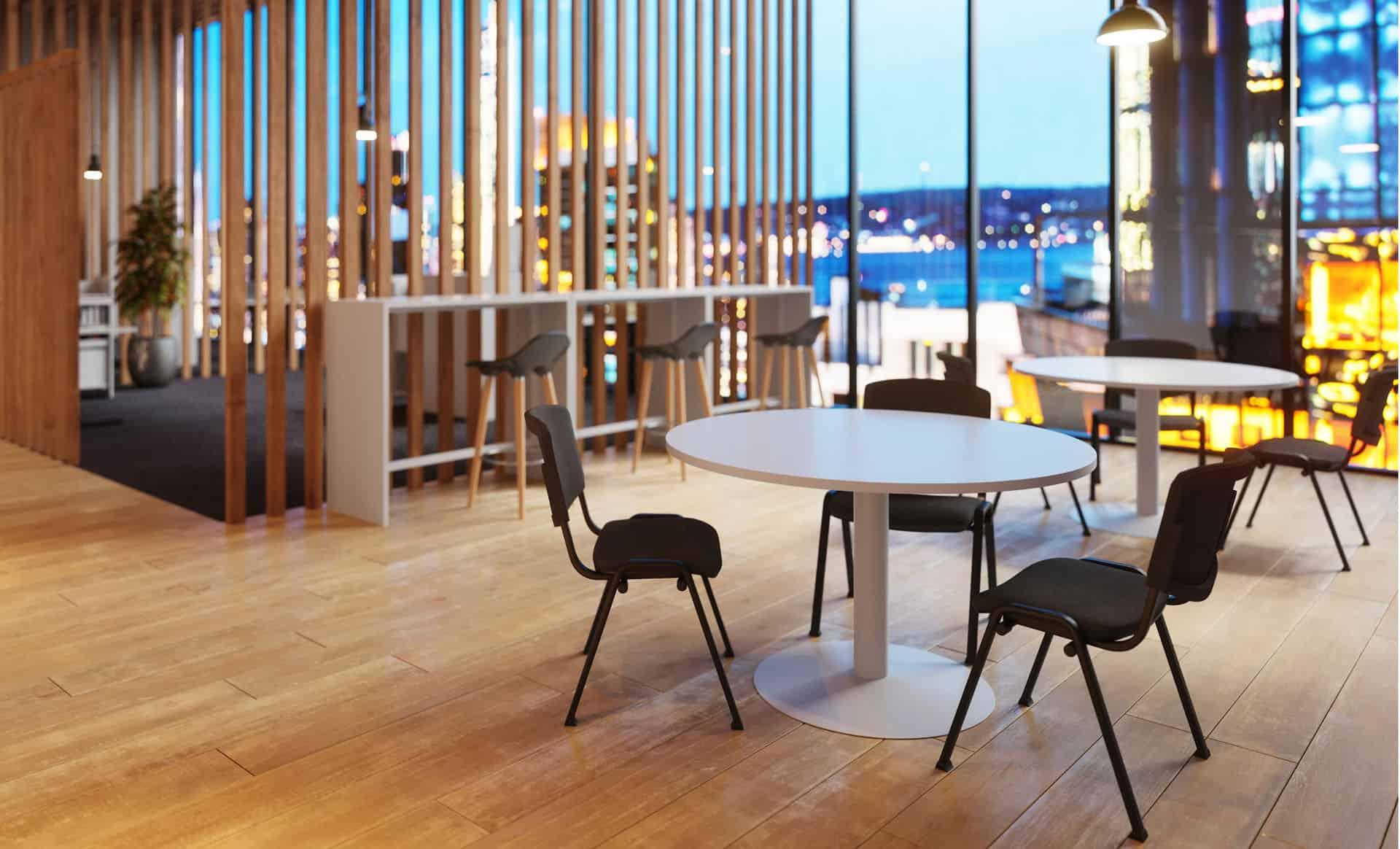 Mobilier de salle de réunion à Caen, Bayeux (Calvados -14) en Normandie - Buronomic Ensemble - Table ronde