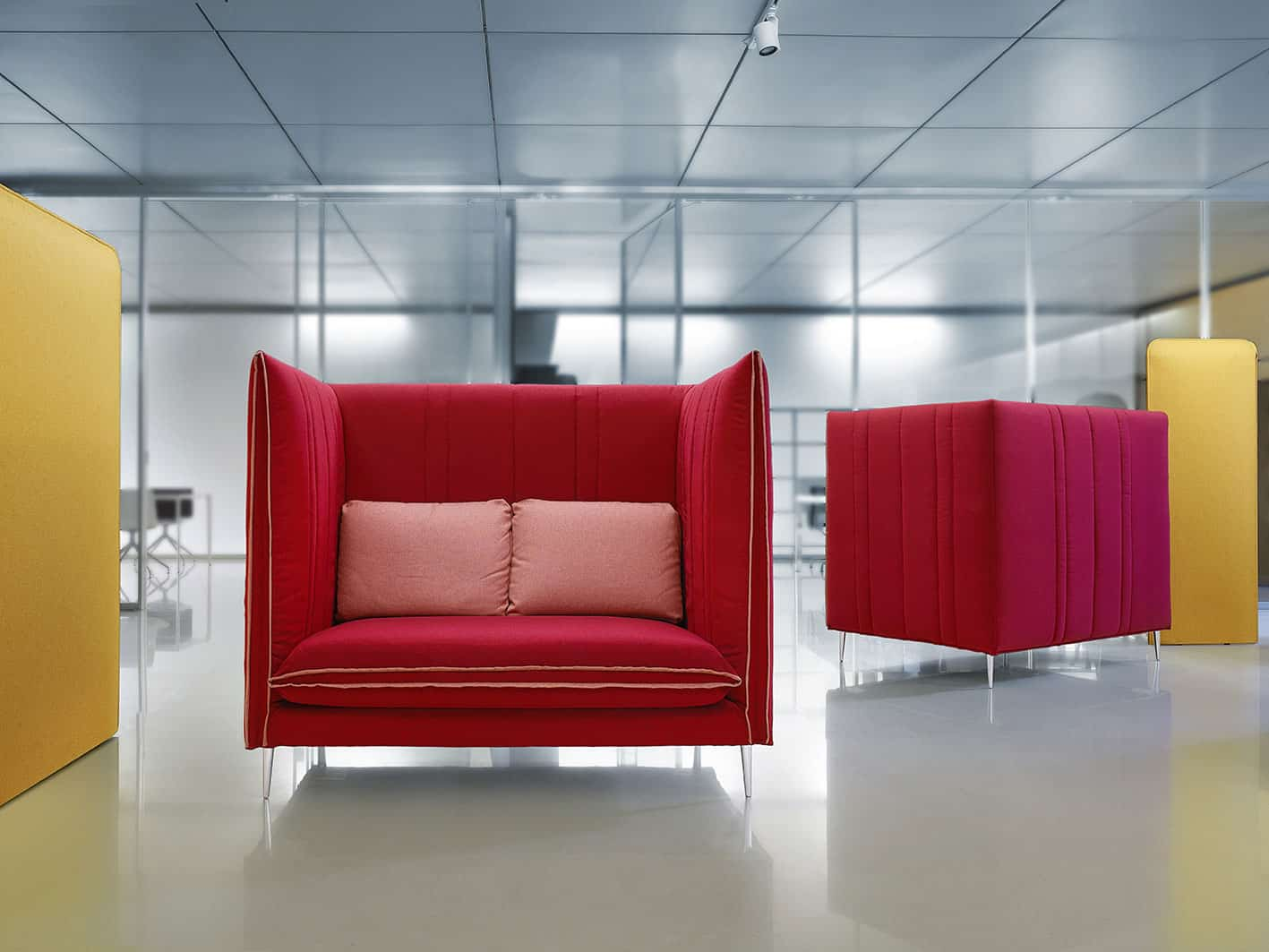 Canapé acoustique LVB - Mobilier acoustique bureau à Caen