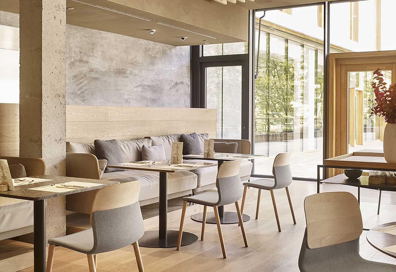 chaises, tables, canapé pour cafétéria ou restaurant - SOKOA Klik Ambiance