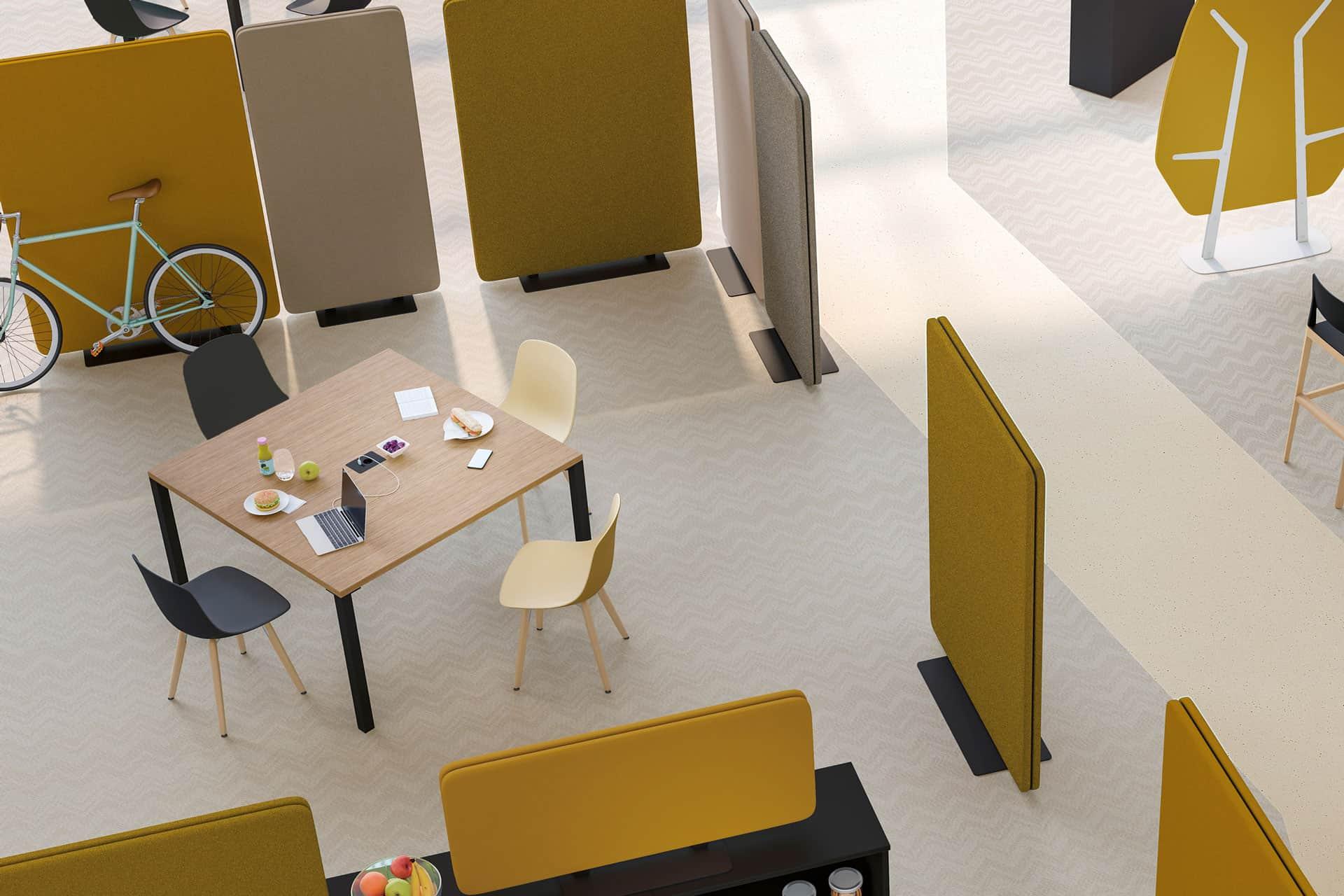 Cloisons acoustique de bureau CLEN - Mobilier bureau à Caen