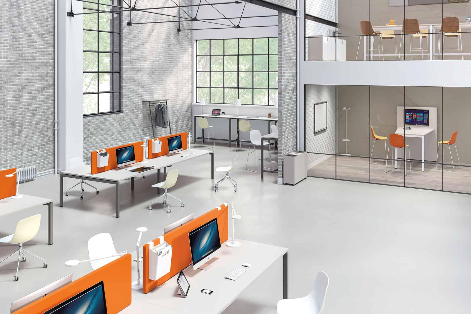 Écrans acoustiques et séparateurs de bureau CLEN - Mobilier acoustique bureau à Caen