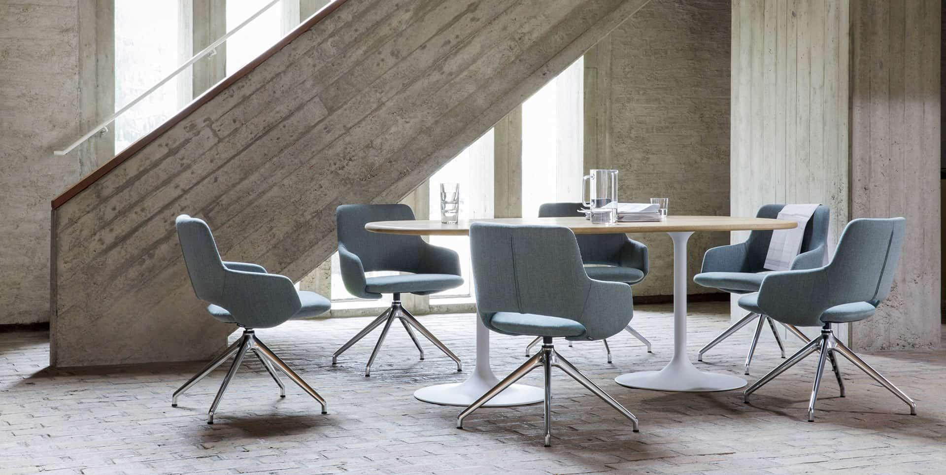 fauteuils, sièges table de réunion à Caen (Calvados -14) en Normandie - Artifort Sfeer Jima