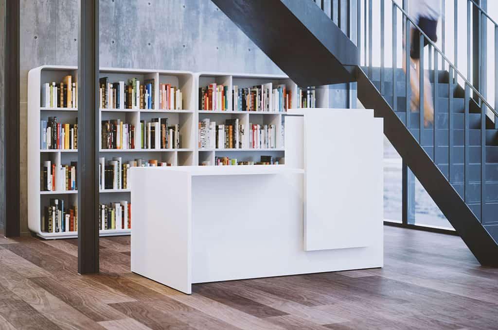 mobilier de bureau - banques d'accueil (Caen - Calvados - 14 en Normandie)