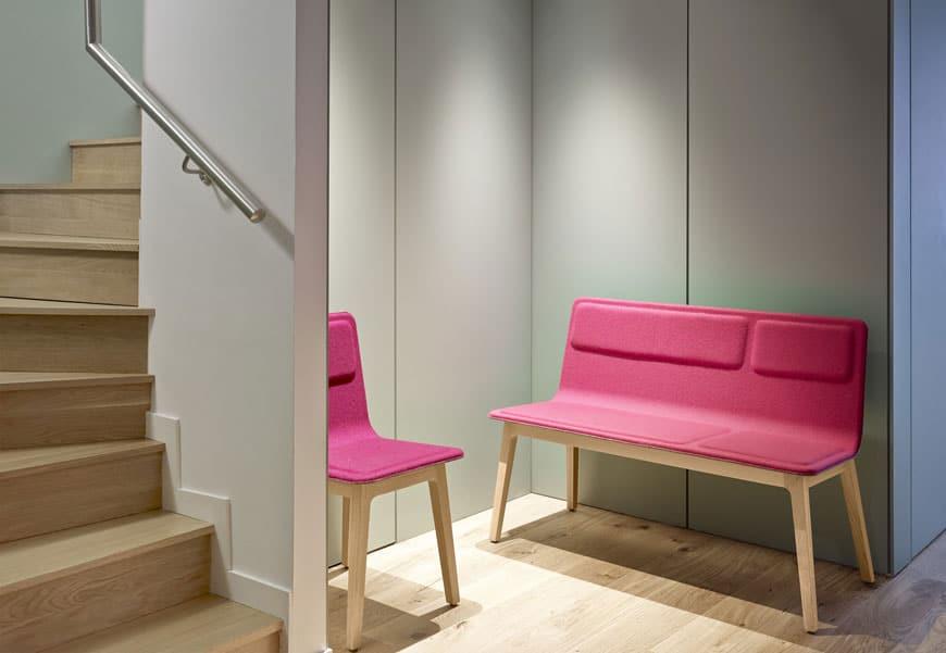 mobilier salle d'attente (banquette, chaise) à Caen (Calvados -14) - Alki