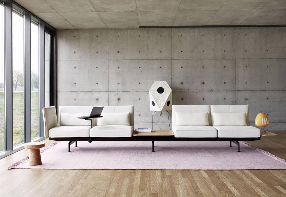 mobilier salle d'attente (canapé banc) à Caen (Calvados -14) - Vitra