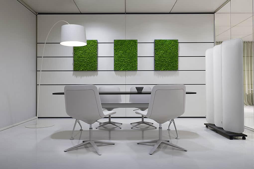 Panneaux acoustiques muraux bureau à Caen (Calvados -14) en Normandie - LVB Mosso