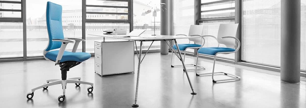 Fauteuil fabriqué par ZÜCO (Groupe Dauphin) - Fauteuils et sièges de bureau de direction à Caen Bayeux (Calvados-14)
