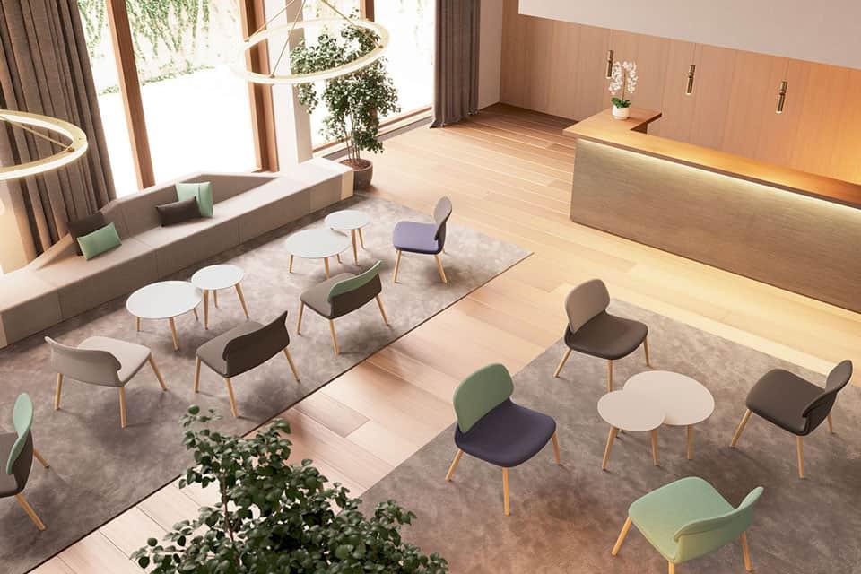 mobilier bureau espace détente à Caen (Calvados -14) en Normandie