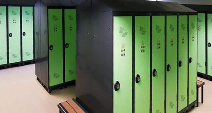 Vestiaires, casiers à Caen (Calvados-14) en Normanie - ACIAL