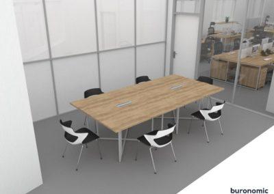 Visuels 3D - Mobilier de bureau, salle de réunion&formation - Valence (Rhône-Alpes) - Samsolar