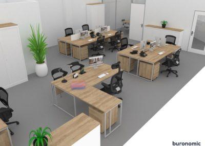 Visuels 3D - Mobilier de bureau - Valence (Rhône-Alpes) - Samsolar