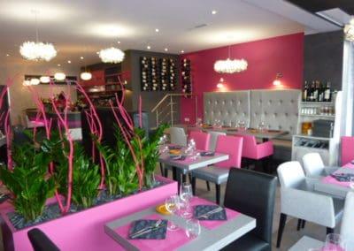 agencement retaurant à Caen (tables, fauteuils, chaises et banquettes non fournies par BÔ_)