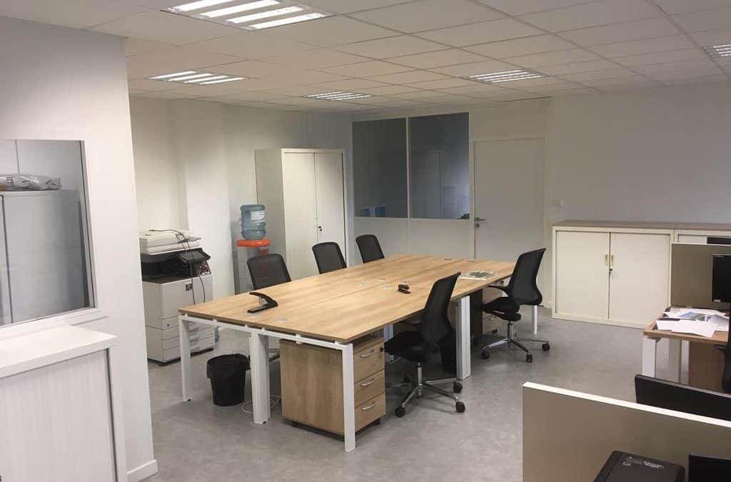 Cloisons modulaires & mobiliers de bureau à Valence (Rhône-Alpes)