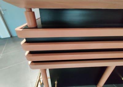comptoir bar en bois & inox dans l'Orne (61)