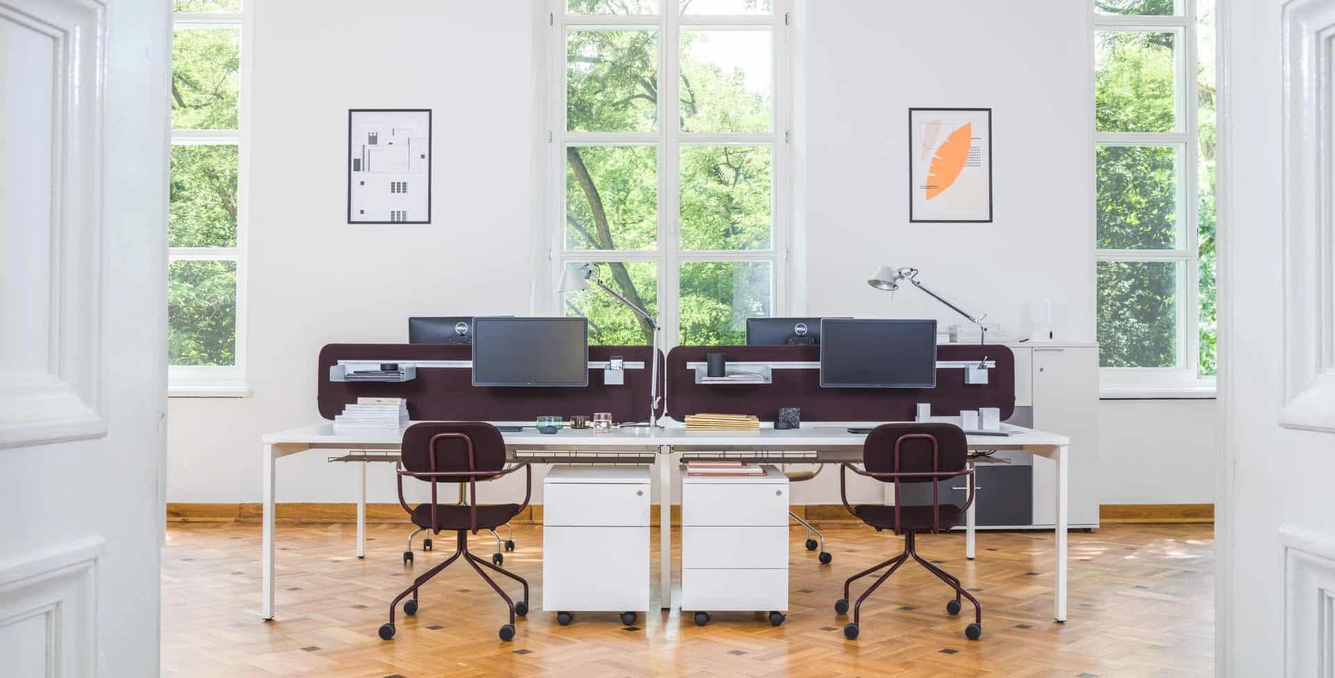 mobilier de bureau à Caen (Calvados -14) en Normandie - MDD Countertop Office Divider 13