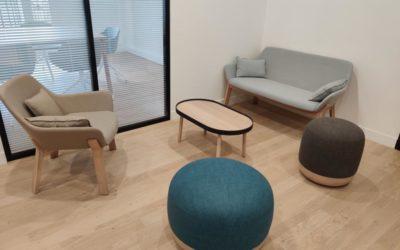 Mobilier de bureau & habitat pour le groupe Samfi Invest à Paris