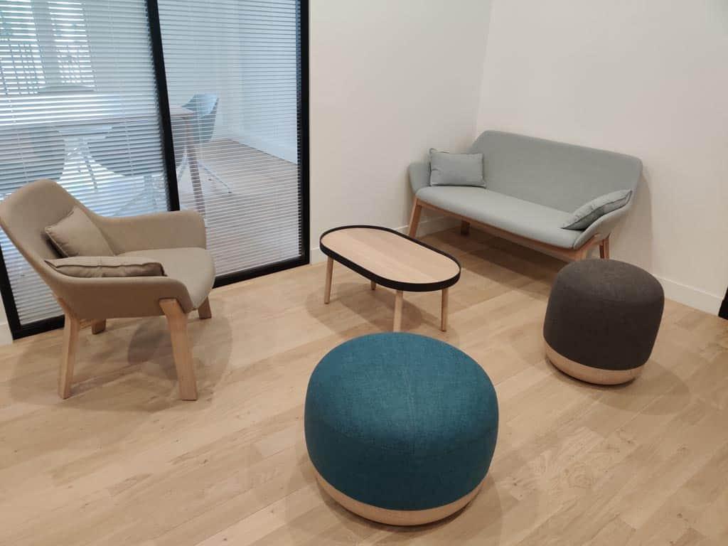 mobilier de salle d'attente à Paris - Espace Attente par BÔ Agencement