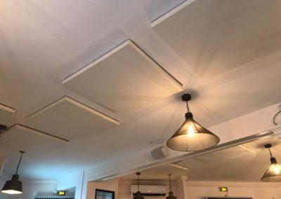 Panneaux acoustiques pour un restaurant & une brasserie en Guadeloupe - Solutions acoustiques restauration